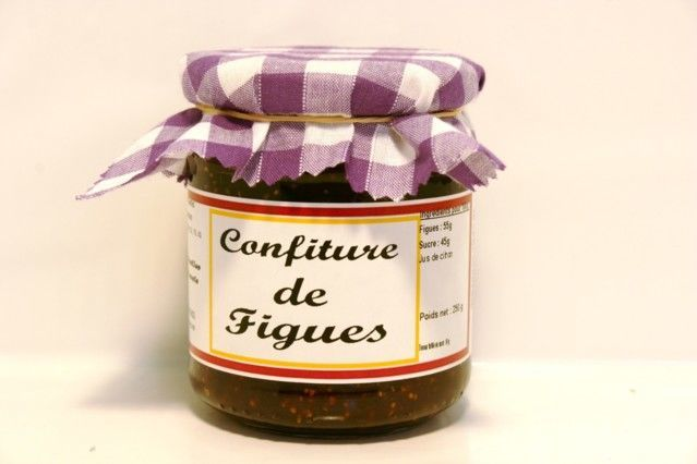 Confitures traditionnelles - Confiture de Figues